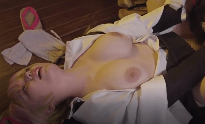 【動画】「鬼滅の刃」甘露寺蜜璃と伊黒小芭内の激しいセックス