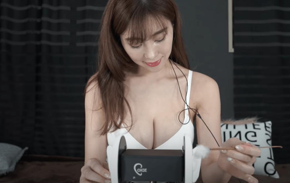 グラドル森咲智美がYouTubeでエロくて抜けるASMR動画を披露したぞッ!