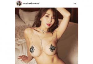森咲智美のインスタ投稿